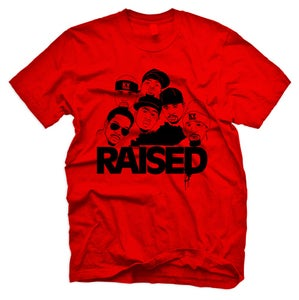 Image of *EXCLUSIVE* KY Raised NAPPY ROOTS TEE in Red & Black