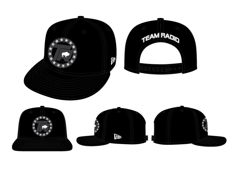 Image of Team Radio x New Era Snapbacks