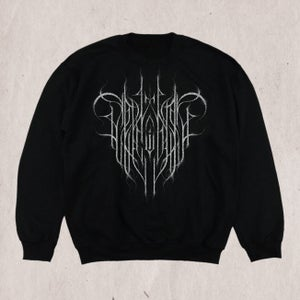 Image of True Black Metal Logos - Silver Edition Crewneck