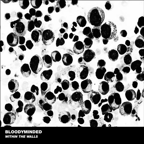 "B!176 BLOODYMINDED ""Within The Walls"" LP"
