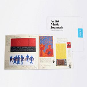 Image of Artist Music Journals Vol 1 No 7 - Post Typography - Sealed