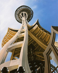Image of Space Needle 8x10 Photographic Print