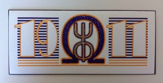 Image of Omega Psi Phi Greeting Card