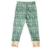 Image of Teal Arrows Leggings by Little Cocoa Bean
