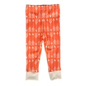 Image of Coral Arrows Leggings by Little Cocoa Bean