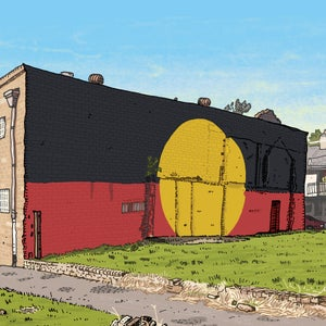 Image of The Block, Redfern, Limited Edition Digital Print