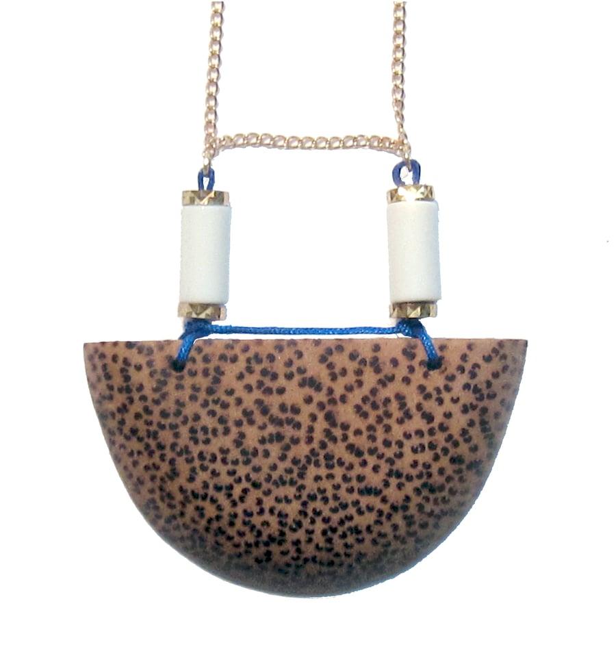 Image of HALF MOON necklace