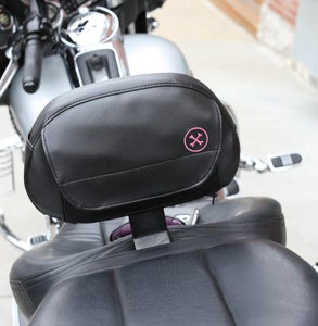 Image of The Bone® POCKET (for driver) Backrest pouch» '09-'18 backrest pads (pink)  BC#106008