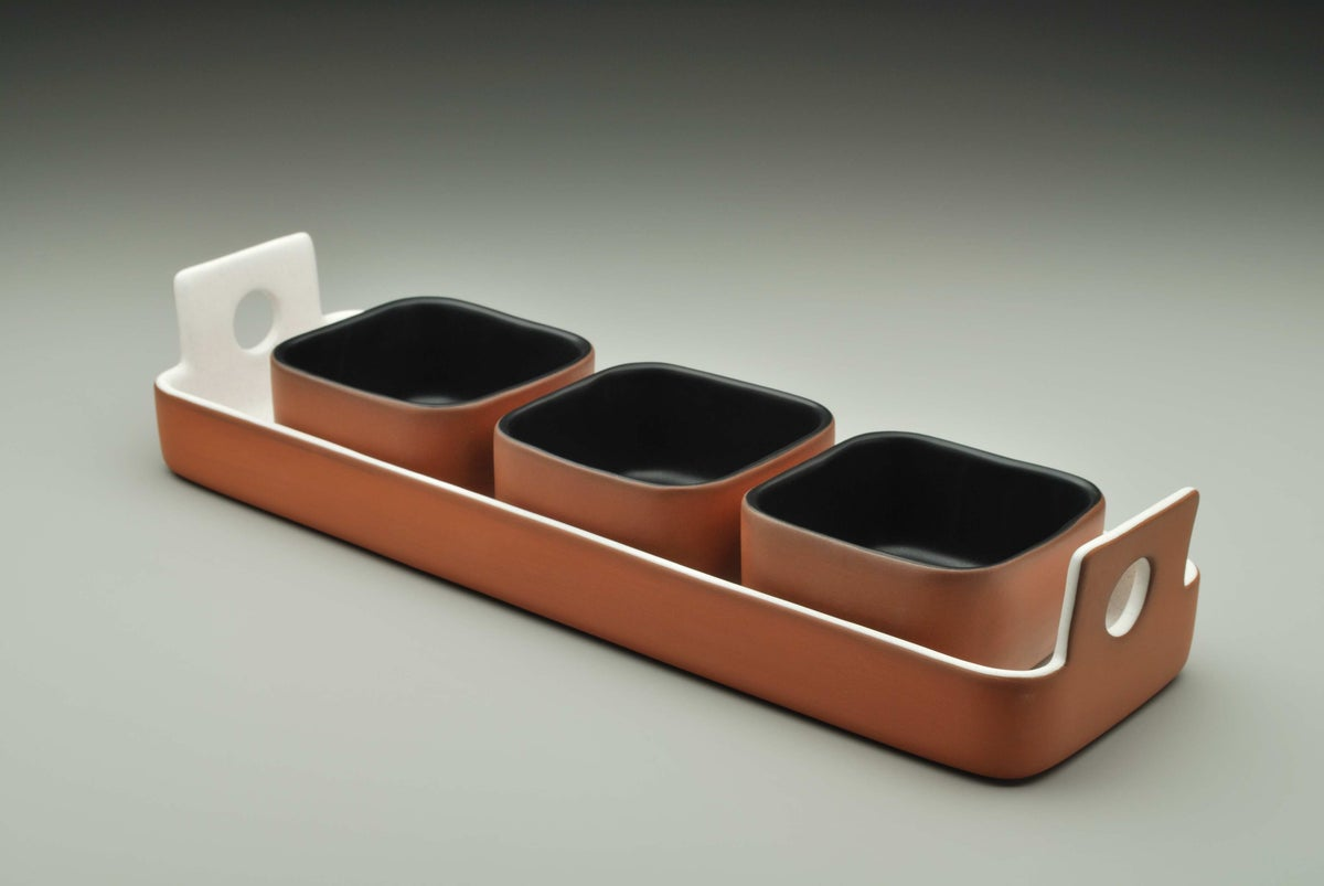 Image of Extra Small Square Bowl
