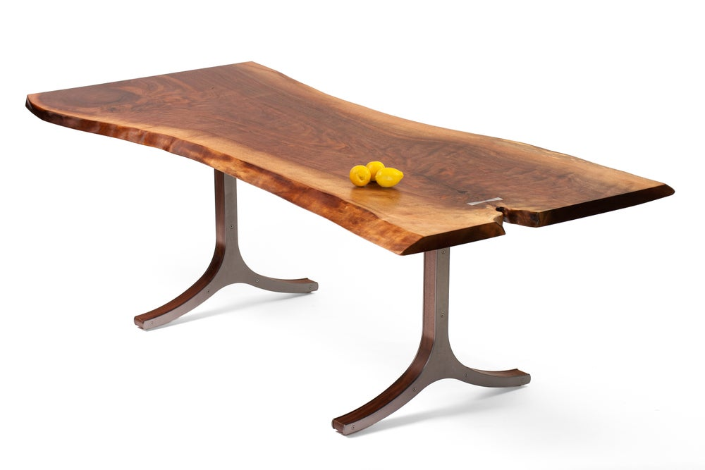 Image of longhorn table