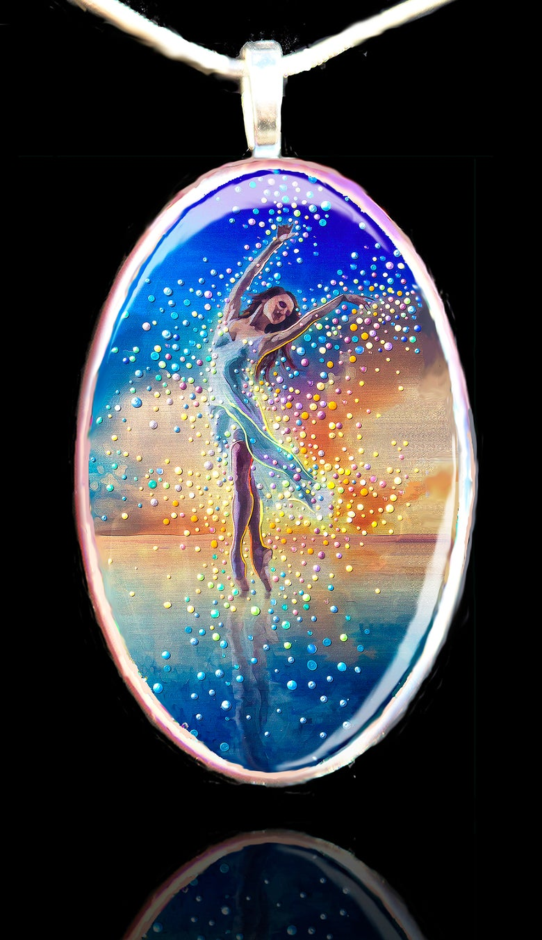 Image of Water Dancer Pendant - In each of us is a bright and boundless spirit