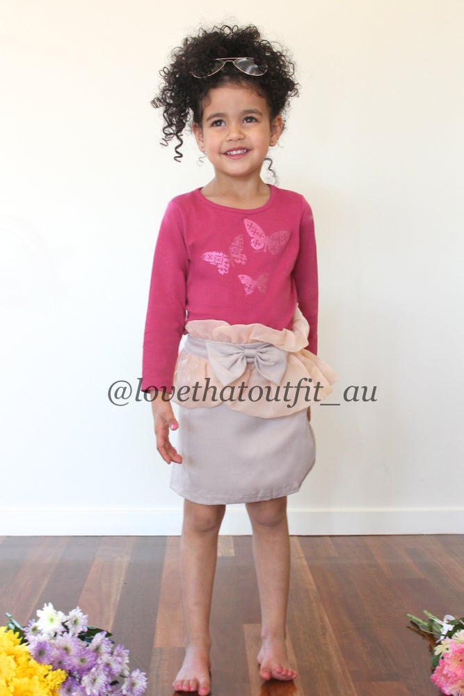 Image of *PINK ATTITUDE* 3 PCE OUTFIT (Size 2-7)