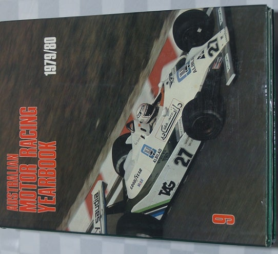 Image of Australian Motor Racing Yearbook # 9. 1979/80.
