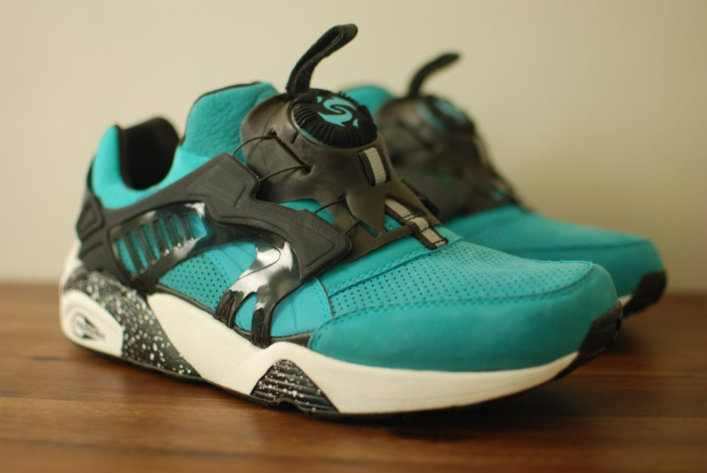 "Image of Ronnie Fieg x Puma Disc Blaze OG ""Cove"" w/ special box"