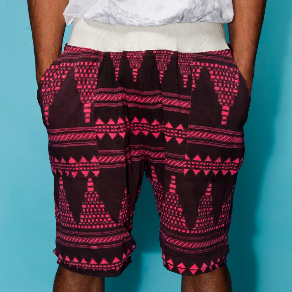 "Image of ""Plaza Sur"" Reversible Woven Shorts"