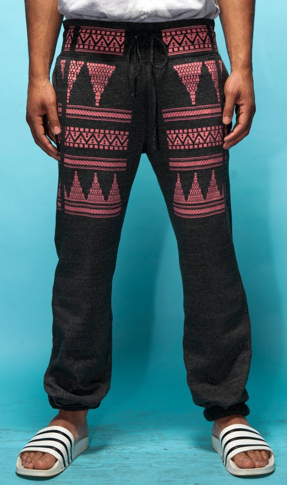 "Image of ""Tortuga"" Fleece Pant - Heather Black"