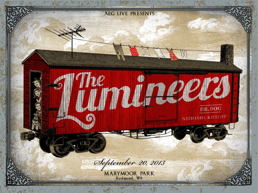 Image of The Lumineers. Marymoor Park. Sep 20