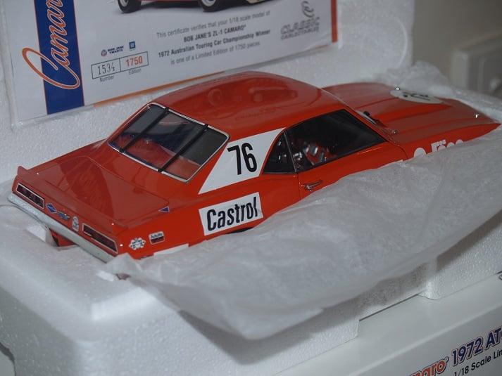 Image of CHEV CAMARO #76. 1972 ATCC WINNER. BOB JANE. NEVER OPENED.