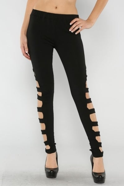 Image of Side Cut-out Tights