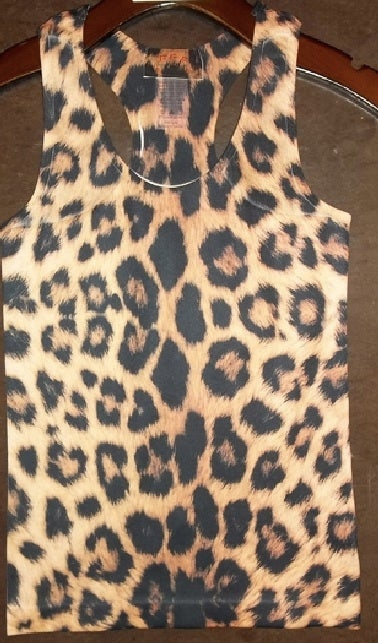 Image of Tiger Print Tank Top