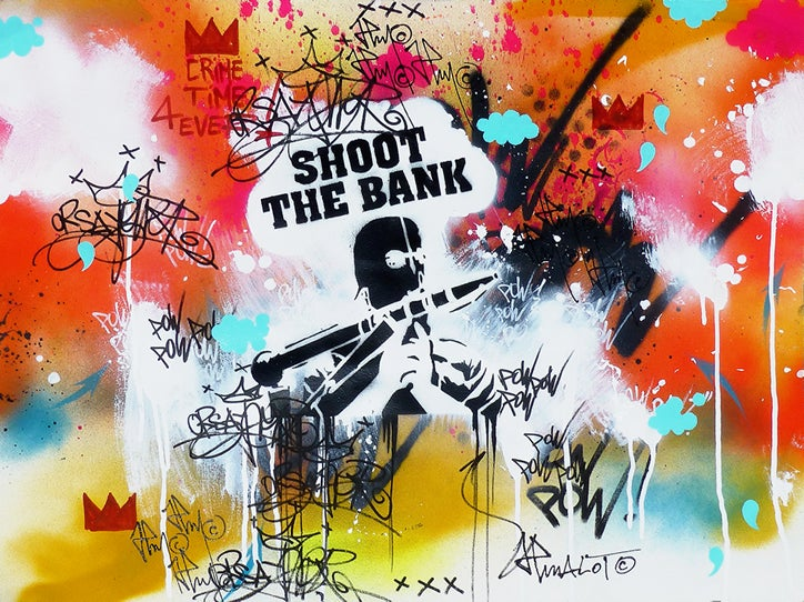 Image of SHOOT THE BANK CRIME TIME 4 EVER !