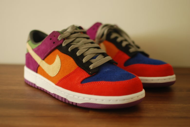 "Image of Nike Dunk Low Premium SP ""Viotech"""