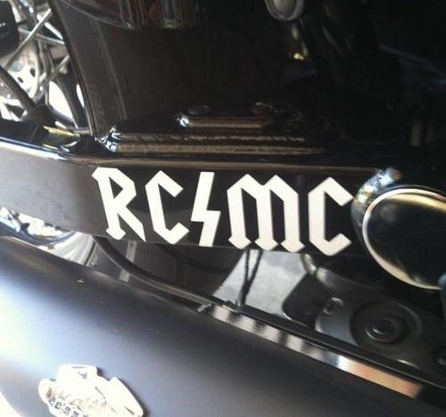 Image of RCMC TRANSFER STICKER
