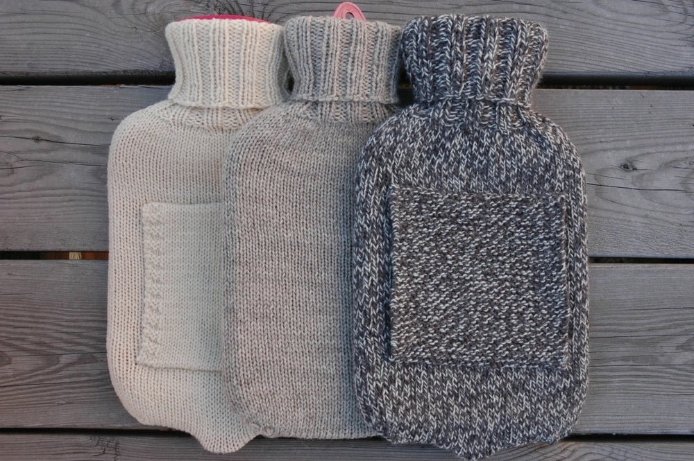 Image of Hot Water Bottle Cover Pattern (PDF)