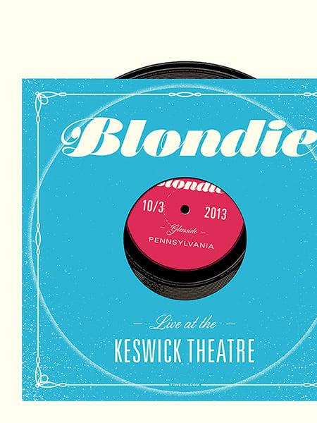 Image of Blondie - Glenside PA '13