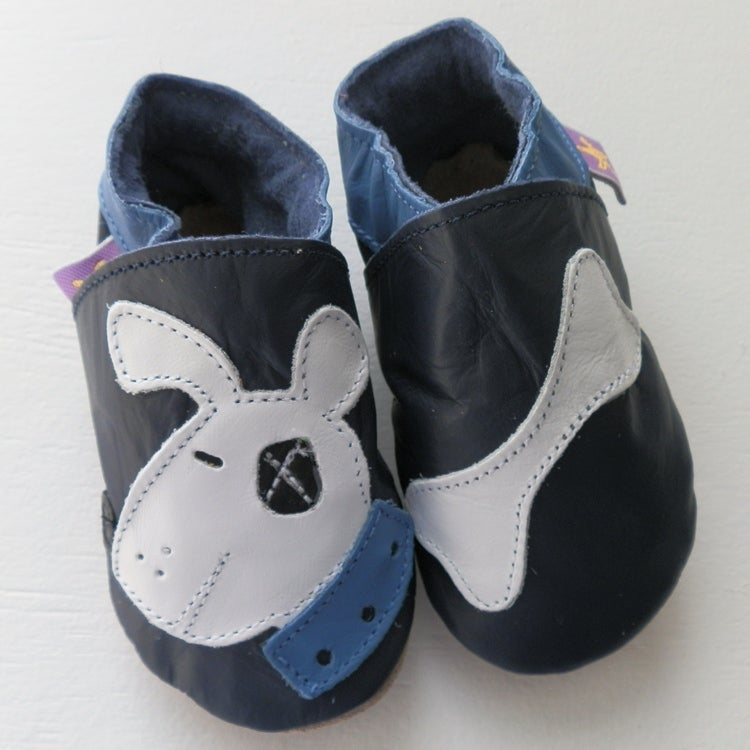 Image of Dog & Bone Leather Baby Shoes