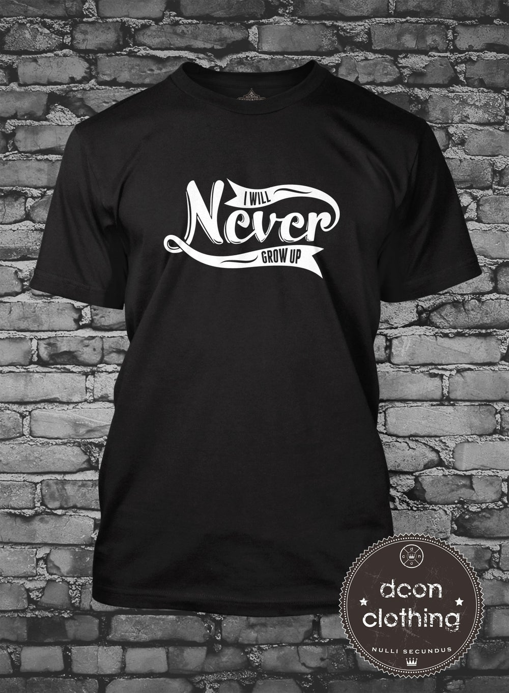 Image of NEVER GROW UP T Shirt