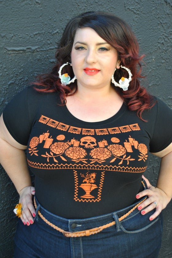 Image of Day of the Dead Altar Top (PLUS SIZES)