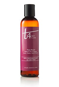 Image of T4 Face Boost for Thin & Sagging Jowls-Cheeks-Neck & Hands-4 oz.-For All Skin Types