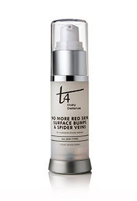 Image of T4 No More Red Skin-Surface Bumps-Spider Veins-1 oz.-For All Skin Types