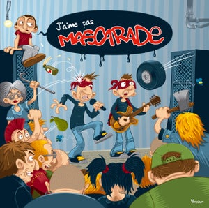 "Image of ALBUM ""J'AIME PAS MASCARADE"" 2013"