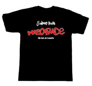 "Image of T-SHIRT ""J'aime pas MASCARADE"""