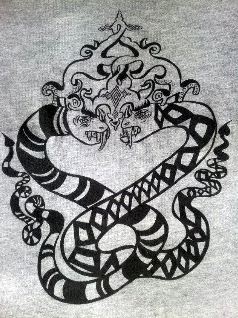 Image of Snake Duo Women's t-shirt