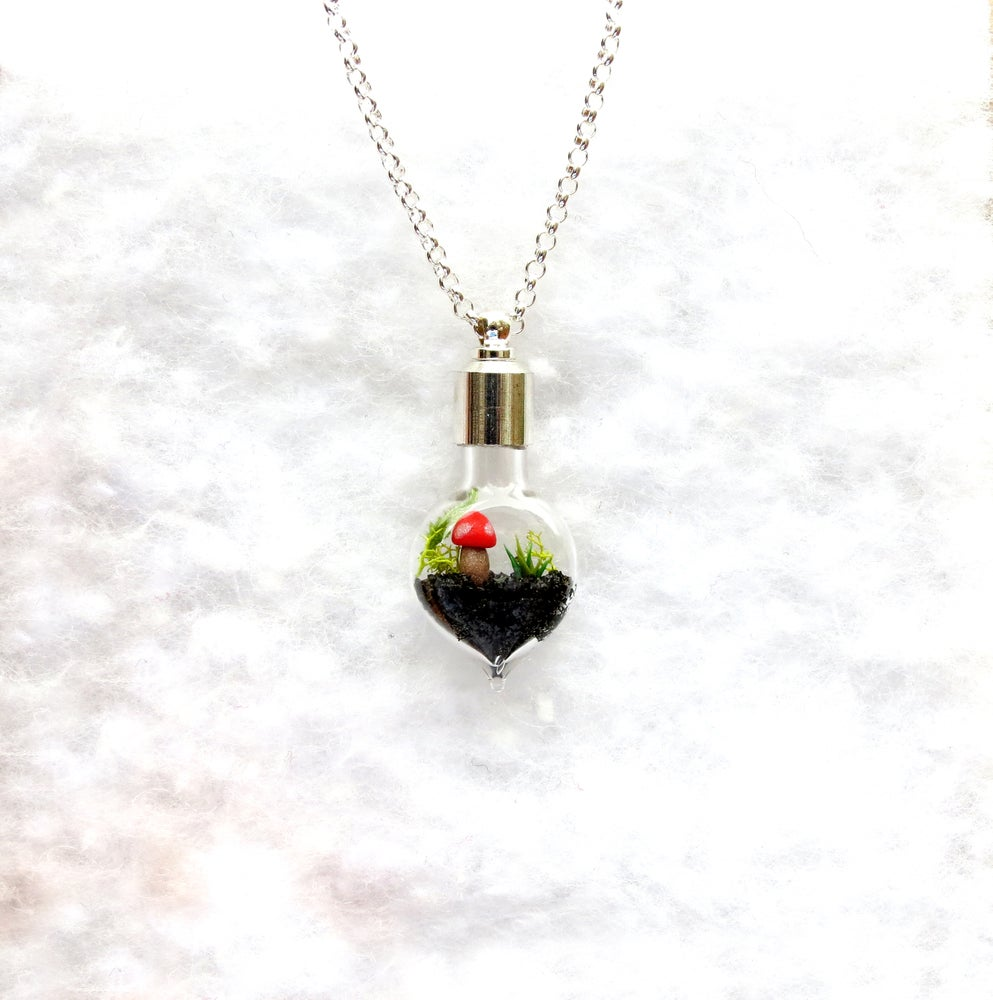 Image of Nature Necklace - Lost World Terrarium Necklace