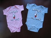 "Image of ""Daddy's Lil"" Fatty"" Baby Onesies"