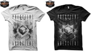 Image of Prescient - Tesseract shirt