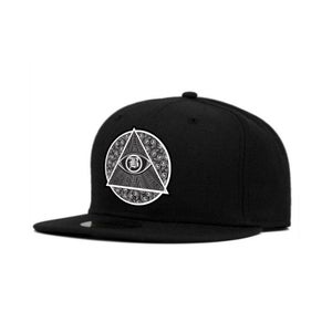Image of BRXXKS LOGO Snapback Black/White