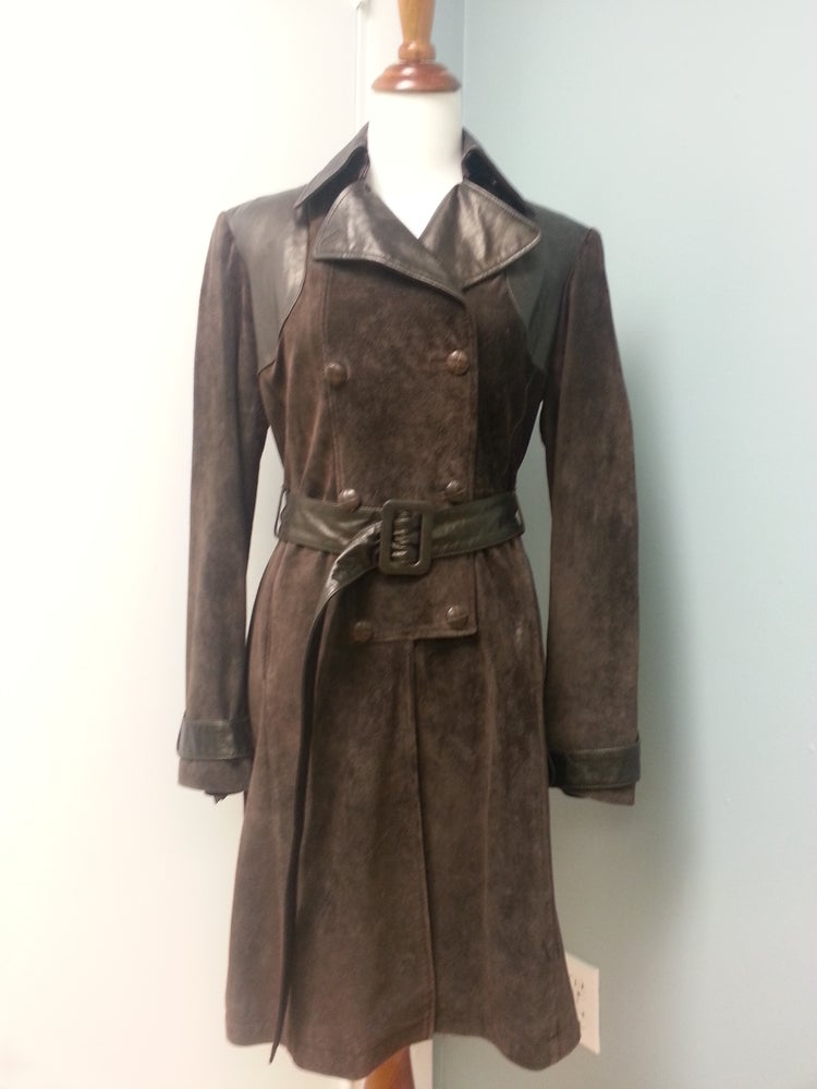 """Image of June """"Military Inspired Trench"""""""