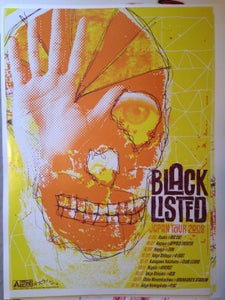 Image of JAPANESE Tour 2008 Poster