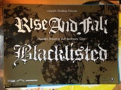 Image of BL/Rise and Fall Euro tour 2006 poster