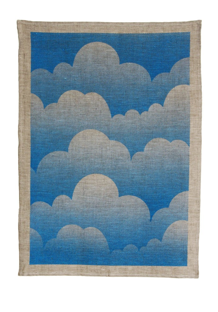 Image of Clouds Tea Towel