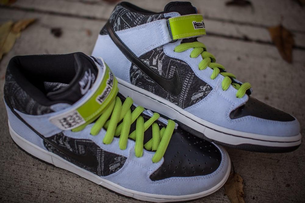 "Image of Nike Dunk Mid Premium SB ""Heavy Mental"""