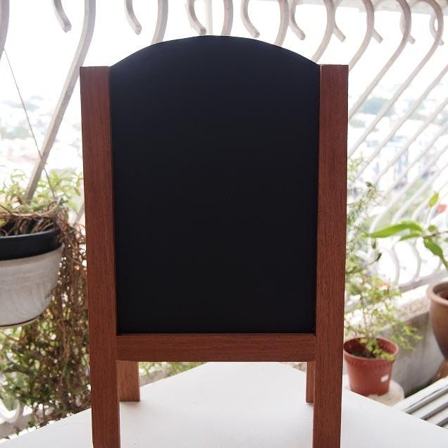 Image of Small Double Sided Standing Chalkboard