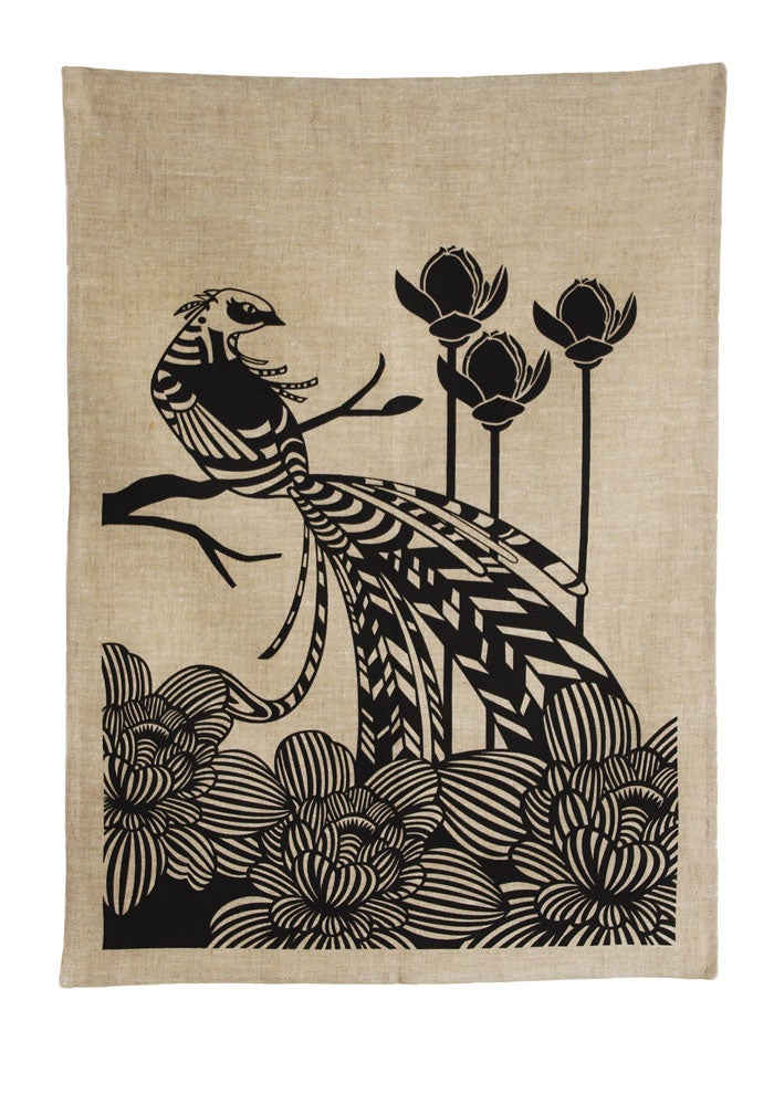 Image of Pheasant Tea Towel
