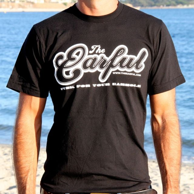 "Image of American Apparel Mens T-Shirt ""Funk For Your Earhole"""