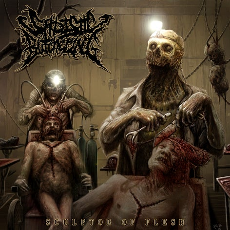 Image of Sadistic Butchering - Sculptor Of Flesh